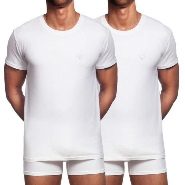 two white shirts