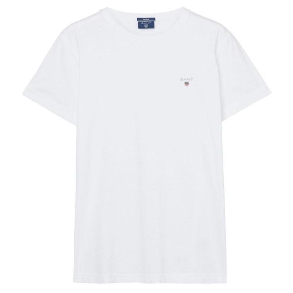 white gant t shirt