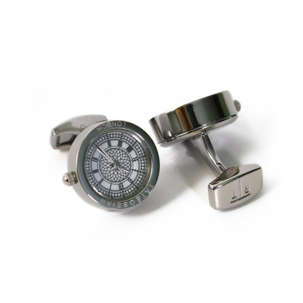 Functional Clock cufflinks