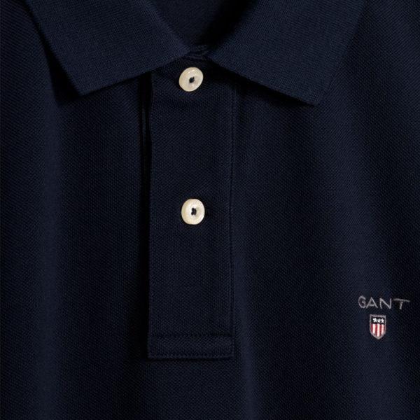 GANT Original Pique Polo Shirt evening blue2