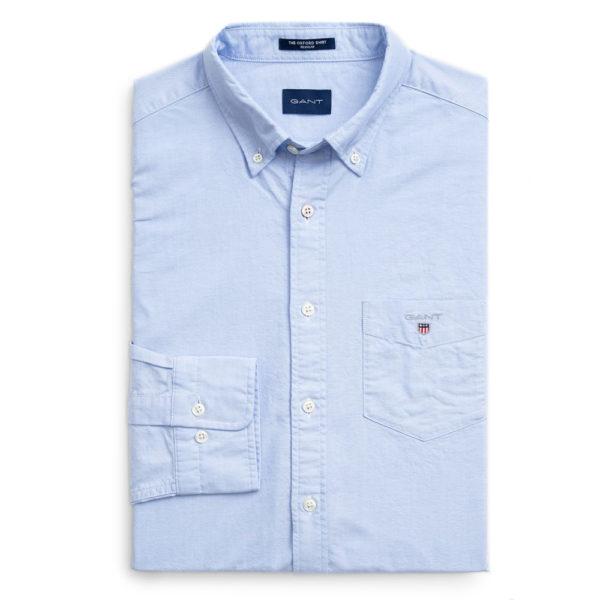 GANT Regular Fit Oxford Shirt blue4