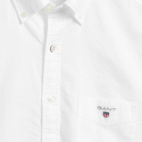 GANT Regular Fit Oxford Shirt white3