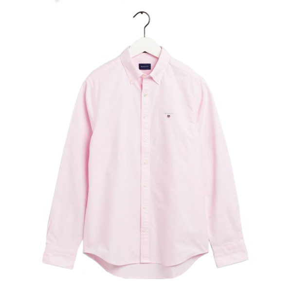 GANT Slim Fit Oxford Shirt light pink