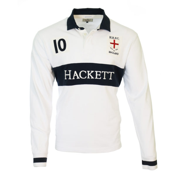Hackett England Rugby Shirt front