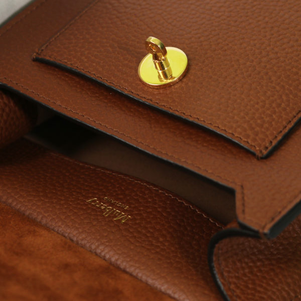 Small Classic Grain Bag tan Mulberry detail