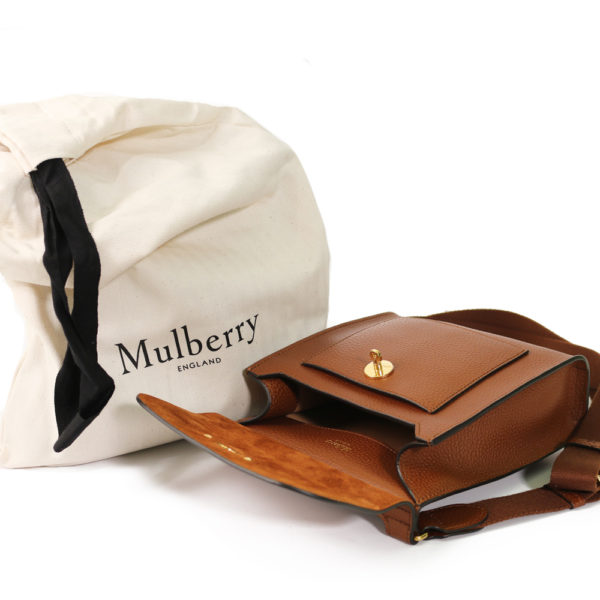 Small Classic Grain Bag tan Mulberry dust bag