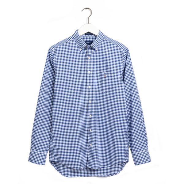 THE BROADCLOTH GINGHAM REG BD college blue