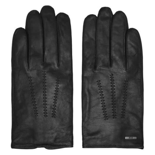 Boss leather gloves Hainz