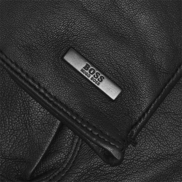 Boss leather gloves Hainz3