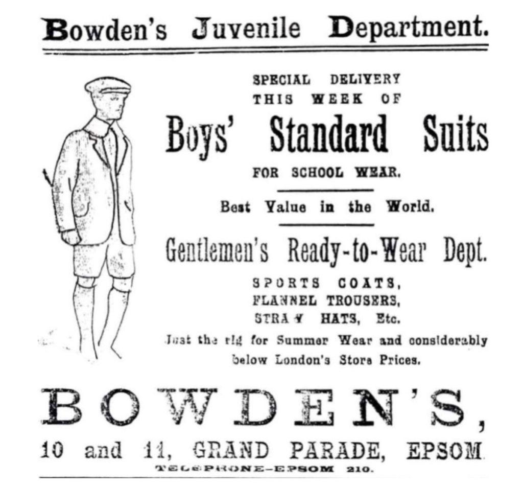 Bowden 1898 history