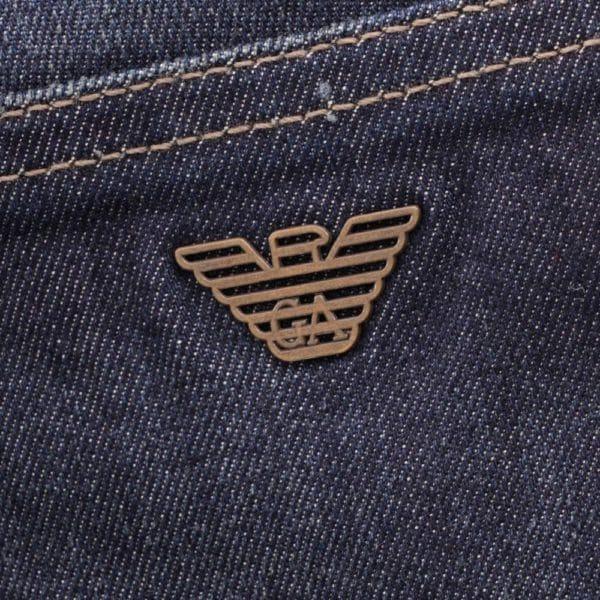 Emporio Armani J45 Regular Fit Jeans Blue2