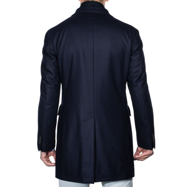 Lubiam Overcoat with insert back