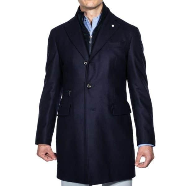 Lubiam overcoat front