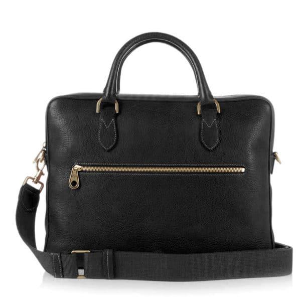 Mulberry Heathcliffe Briefcase Black