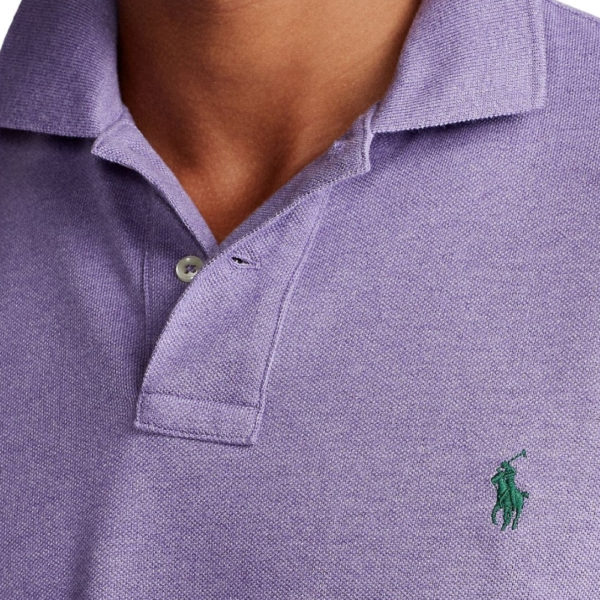 Polo Ralph Lauren Polo Shirt Purple detail