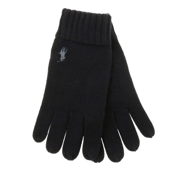 Ralph Lauren Gloves black