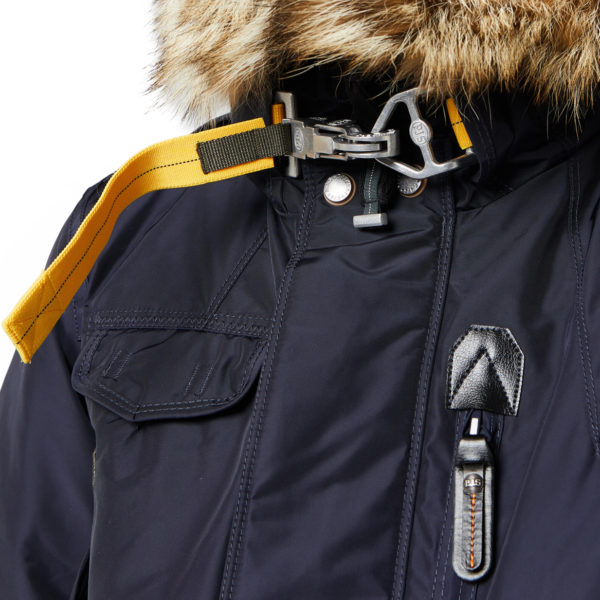 detail PARAJUMPERS Right Hand Jacket Navy back