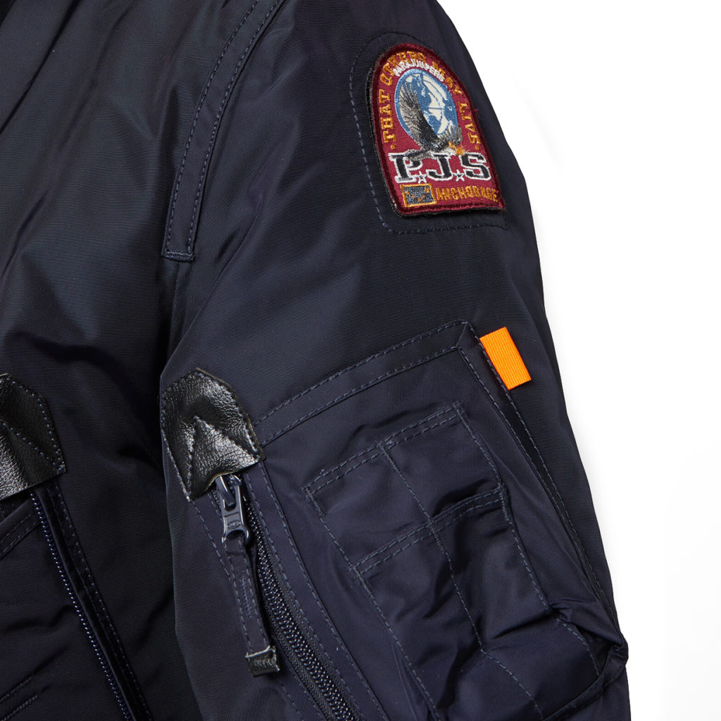 detail2 PARAJUMPERS Right Hand Jacket Navy back