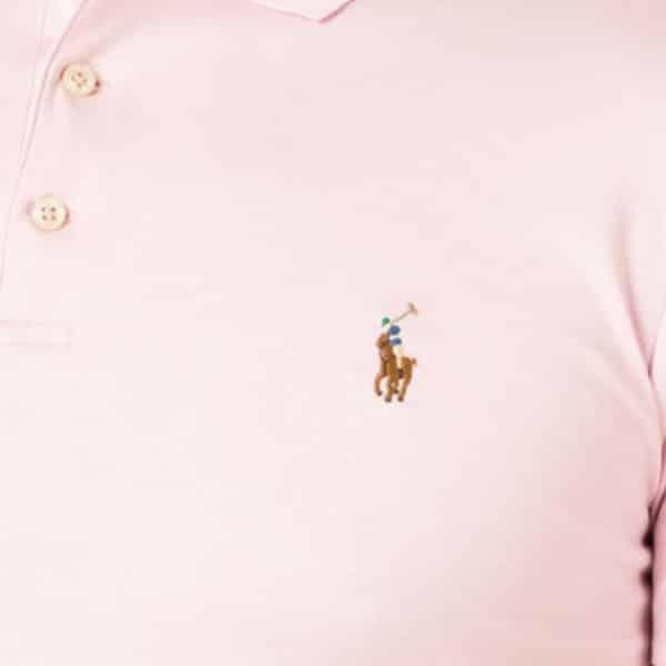 polo ralph lauren soft pink detail
