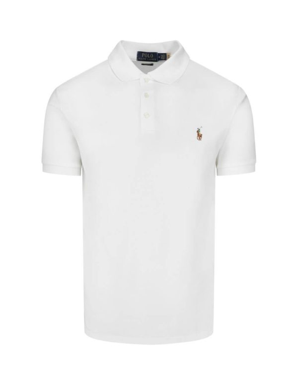 polo ralph white lauren slim fit