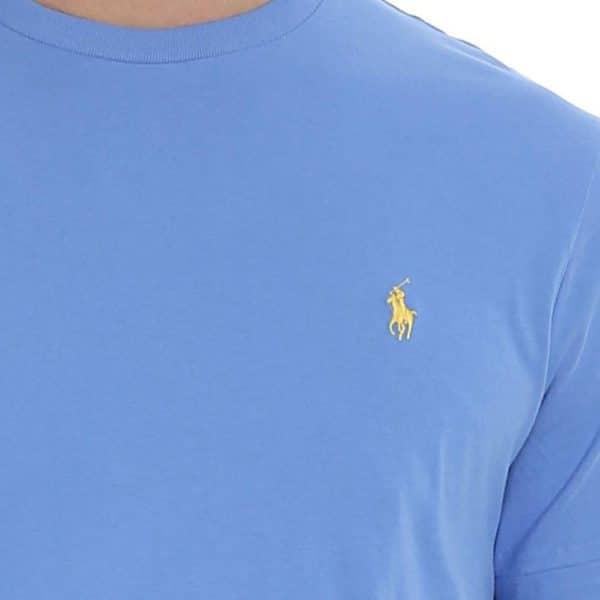 ralph lauren light blue t shirt pony