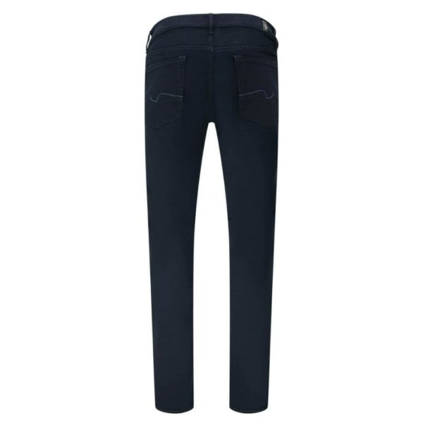 7 FOR ALL MANKIND JEANS RONNIE LUXE PERFORMANCE RINSE BLUE 1