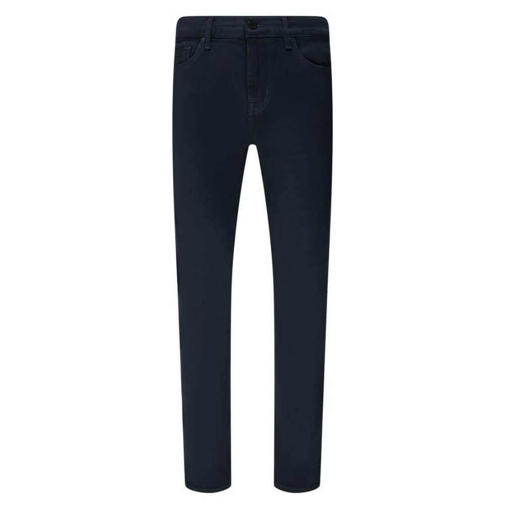 7 FOR ALL MANKIND JEANS RONNIE LUXE PERFORMANCE RINSE BLUE 4