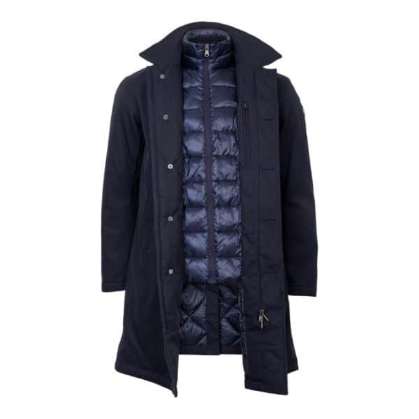 Colmar raincoat open