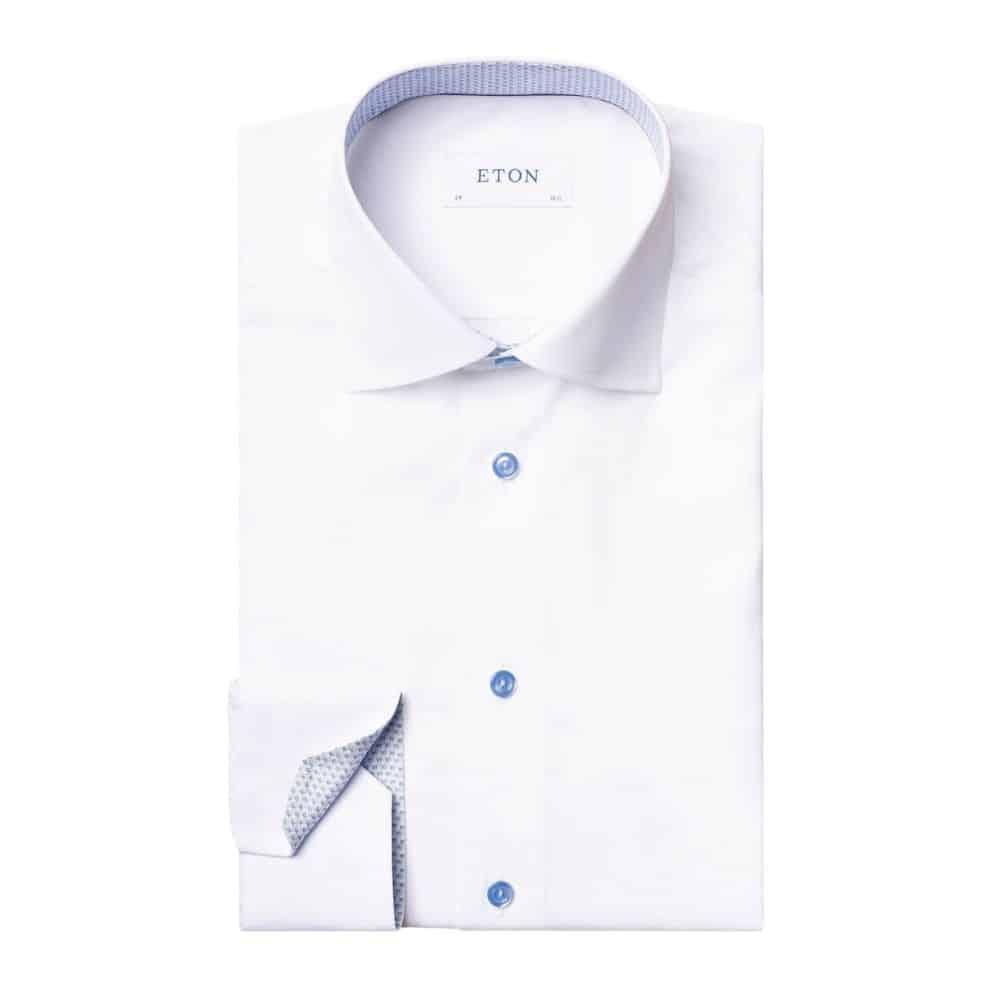 Eton Shirt with micro print detail