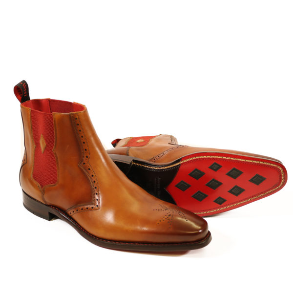HUNGER BOWIE CHELSEA BOOT 2 caramel