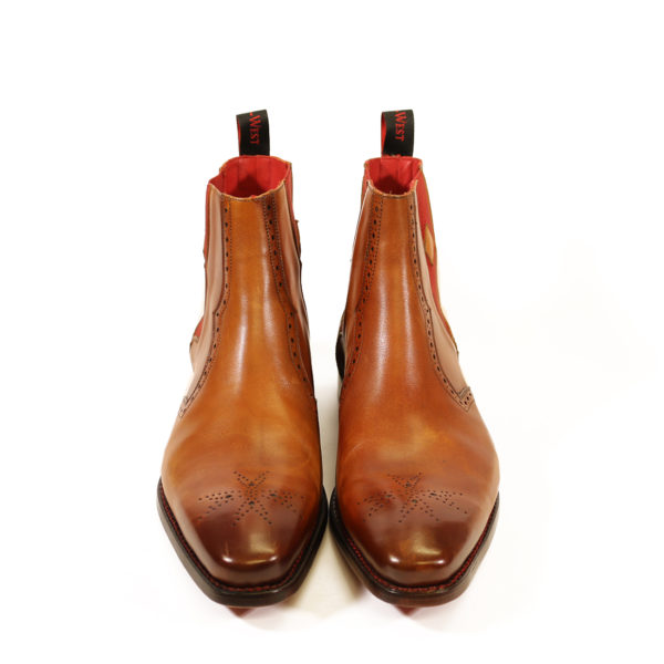 HUNGER BOWIE CHELSEA BOOT 3 caramel