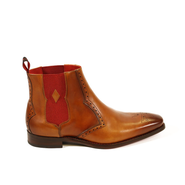 HUNGER BOWIE CHELSEA BOOT 4 caramel