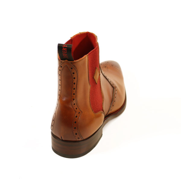 HUNGER BOWIE CHELSEA BOOT 5 caramel