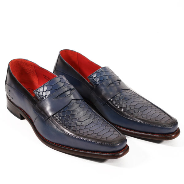 JEFFERY WEST Leather Melly Penny Loafers new