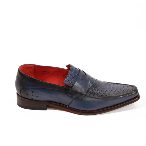 JEFFERY WEST Leather Melly Penny Loafers3
