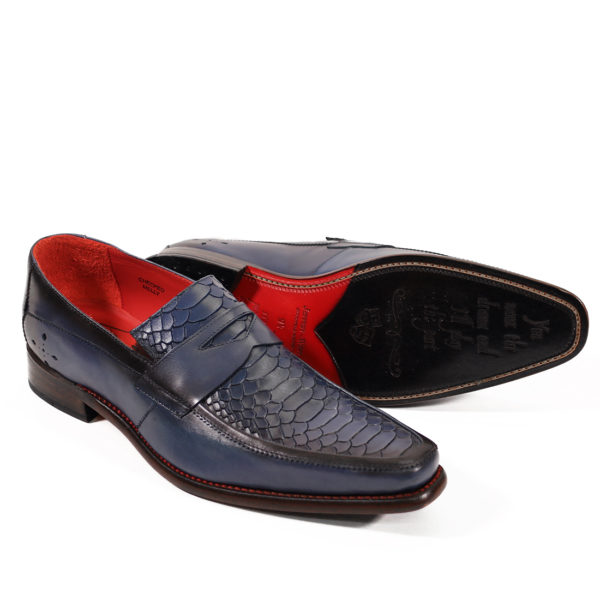 JEFFERY WEST Leather Melly Penny Loafers6