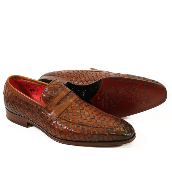 Jeffery West Soprano Leather Loafers castano mo
