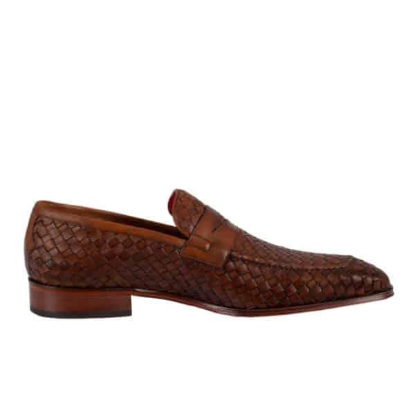 Jeffery West Soprano Leather Loafers castano side