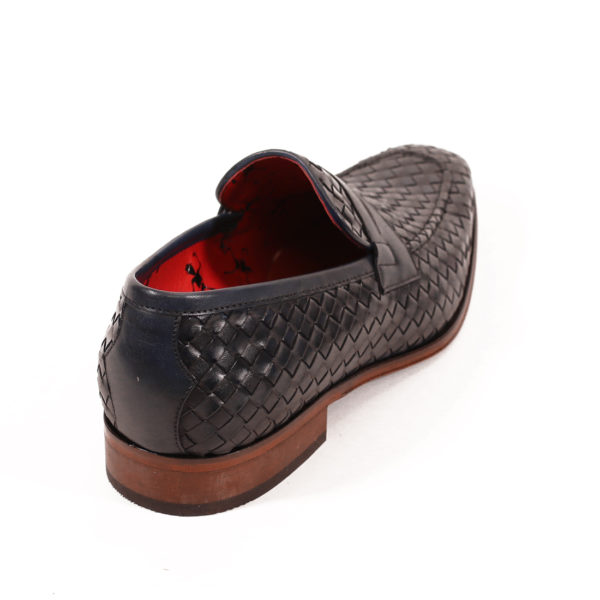 Jeffery West Soprano Leather Loafers dark blue vowen2