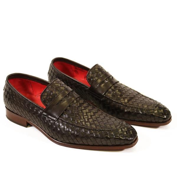 Jeffery West Soprano Leather Loafers dark brown