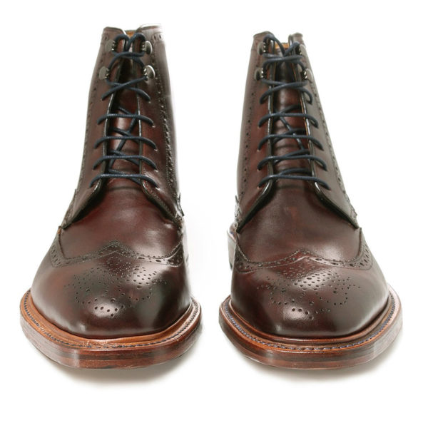 OLIVER SWEENEY Leather Carnforth Brogue Boots3