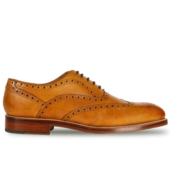 Oliver Sweeney ALDEBURGH TAN CALF LEATHER OXFORD BROGUE