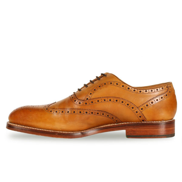 Oliver Sweeney ALDEBURGH TAN CALF LEATHER OXFORD BROGUE3