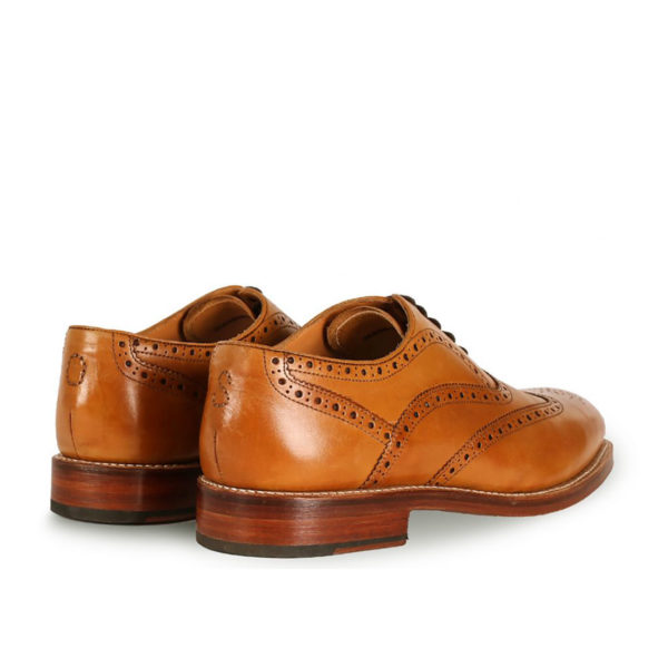 Oliver Sweeney ALDEBURGH TAN CALF LEATHER OXFORD BROGUE4