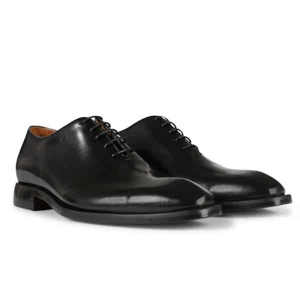 Oliver Sweeney Benuzzi Black Calf Leather Oxford Shoe