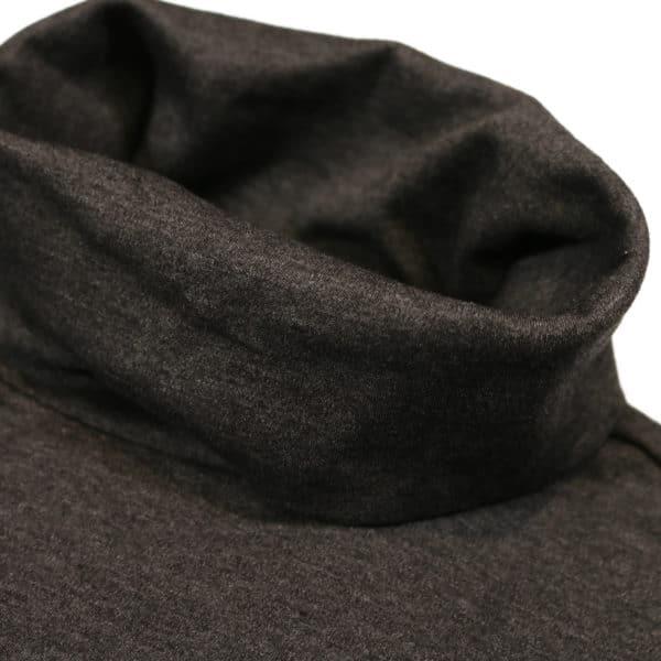 Polo Ralph Lauren Grey cotton turtleneck collar