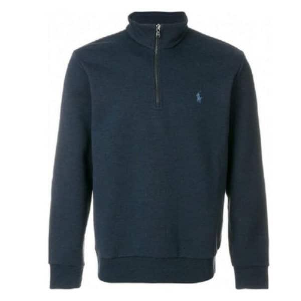 Polo Ralph Lauren Half Zip Navy winter jumper