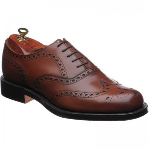 cheaney tay in dark leaf calf 1 med