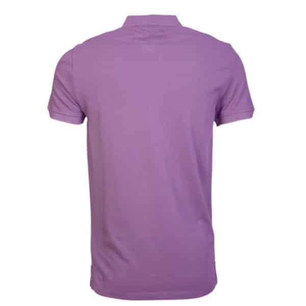 emporio armani viola polo shirt back 1