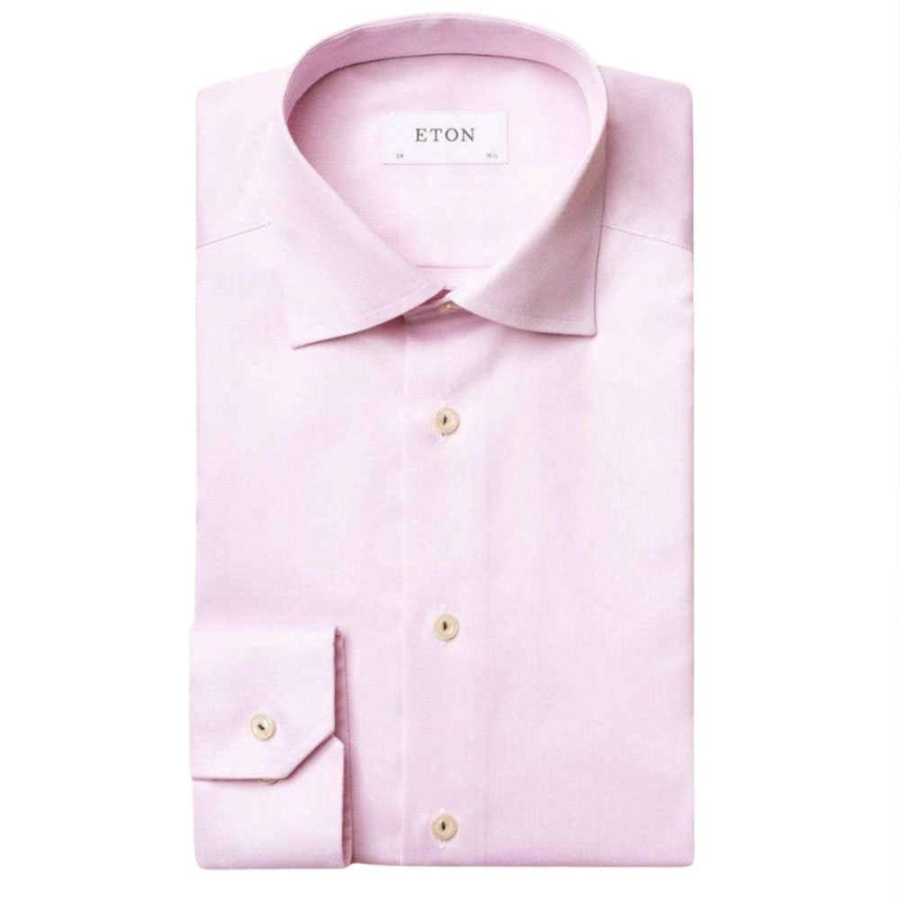 eton shirt royal twill ligh pink main